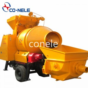 CONELE Diesel Concrete Mixer with Pump